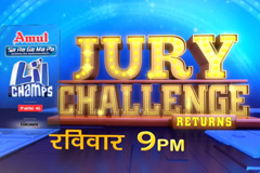 Entertainment Ka Dhakad Dhamal In Jury Challenge   Sa Re Ga Ma Pa Li'l Champ   Sunday at 9:00 PM