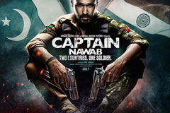 First Poster Of Imran's Production Movie 'Captain Nawab' Is Out