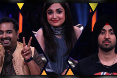 Full On Dhamaal On The Rising Star Show