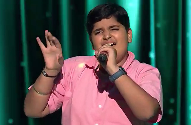 Gaurang Takkar Sings Dhage Tod Lao Chandni Se Song The Voice India Kids Season 2 - December 9, 2017 | &(AndTv)