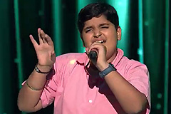 Gaurang Takkar Sings Dhage Tod Lao Chandni Se Song The Voice India Kids Season 2 - December 9, 2017 | &(AndTv)