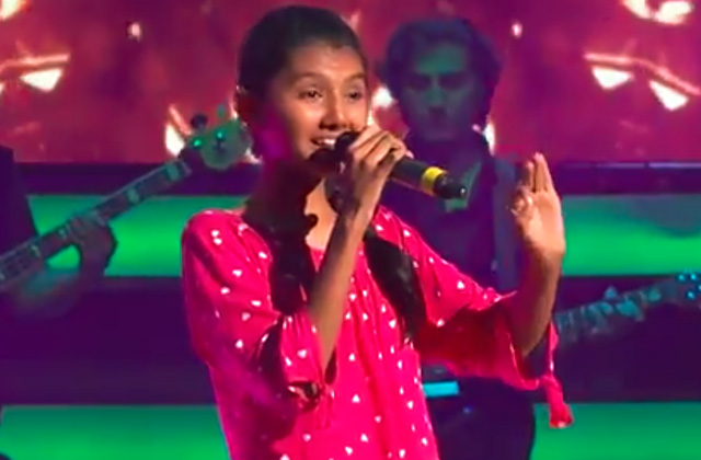 Gayatri Shinde Sings Pinga Song The Voice India Kids Season 2 - November 18, 2017 | &(AndTv)