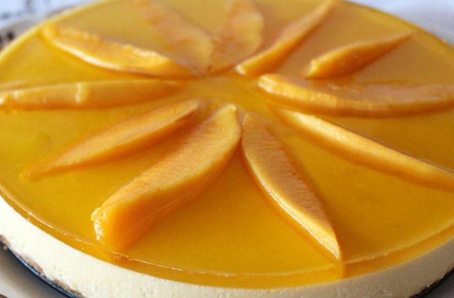 How To Make Baked Mango Cheese Cake