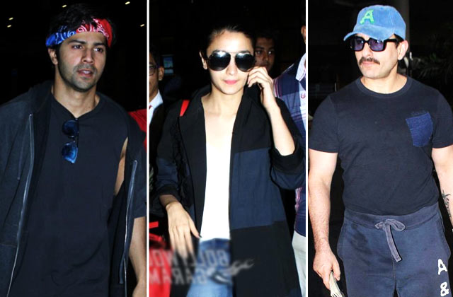 IIFA Return: Varun Dhawan, Alia Bhatt & More Celebs Spotted @ Airport