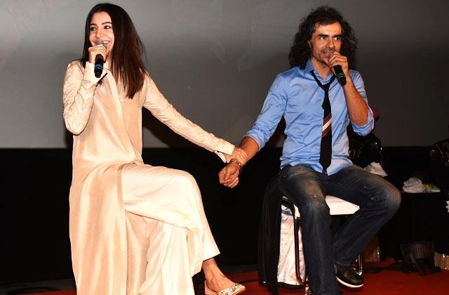 Imtiaz Ali & Anushka Sharma At 'Jab Harry Met Sejal' Trailer Launch