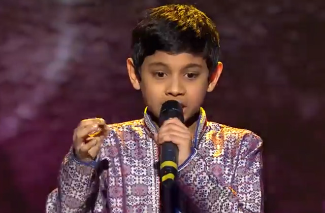 Ishaan Tangirala Sings Dil Ki Tapish The Voice India Kids Season 2 - November 11, 2017 | &(AndTv)