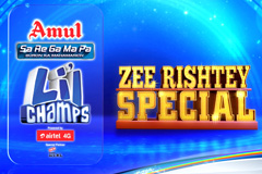 Iss Ravivaar Zee Rishtey Special | Sa Re Ga Ma Pa Li'l Champs | at Sun, 9 PM On ZeeTv.