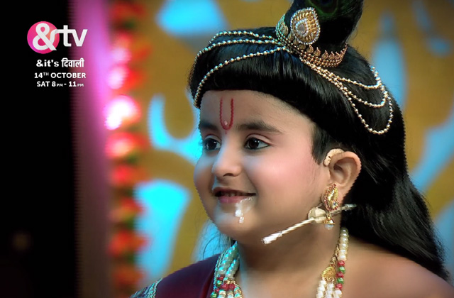 & It's Diwali | Krishna & Radha's Naughty Prank With Happu Singh! | 14th Oct, sat 8 pm onwards