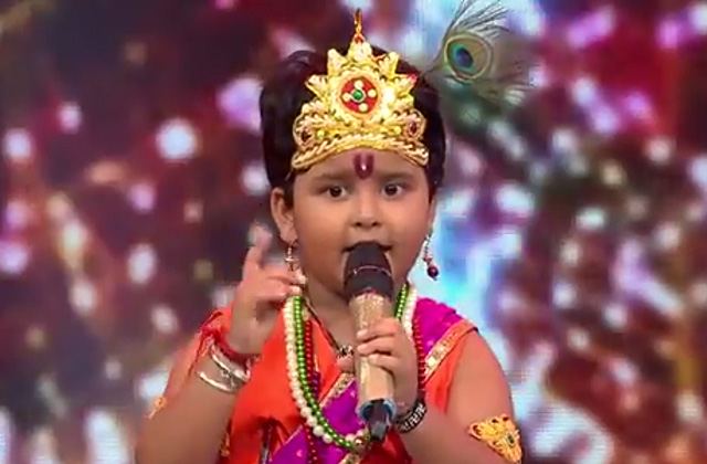 Jayas Kumar Sing Mach Gaya Shor On Shree Krishna Janmashtami Special at Sa Re Ga Ma Pa Lil Champs 2017 - August 12, 2017 | ZEETV