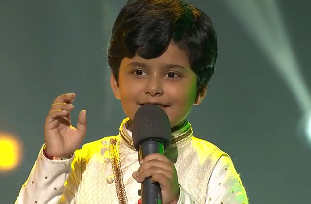 Jayas Kumar Sings Hai Preet Jahan Ki Reet | The Voice India Kids Season 2 - January 28, 2018 | &(AndTv)