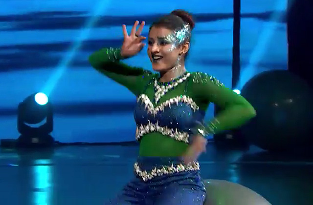 Kalpita Performs On Pani Da Rang | Dance India Dance 2017 – January 21 | ZEETV