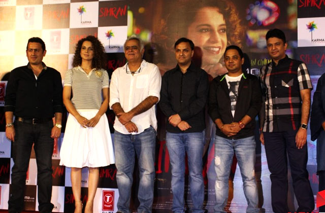Kangana Ranaut At Simran Trailer Launch