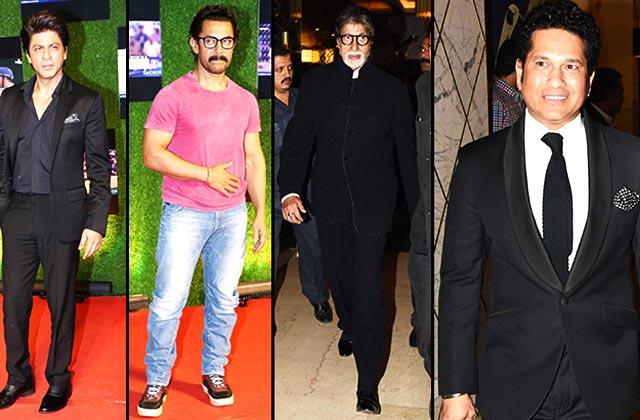 Khans & Bachchans At The Premiere Of Sachin: A Billion Dreams