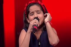 Krishnakshree Das Sings Aao Huzoor Tumko Songs The Voice India Kids Season 2 - December 9, 2017 | &(AndTv)