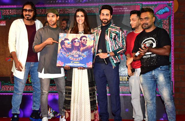 Kriti, Rajkumar & Ayushmann Launch 'Twist Kamariya'