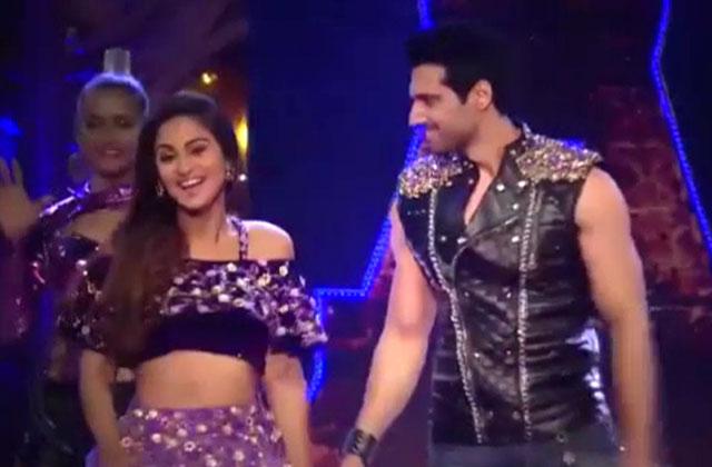 Krystle D'Souza & Aham Sharma perform | Zee Rishtey Awards 2016