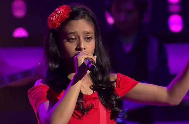 Laxmi Srivastava Sings Namak Ishq Ka Song The Voice India Kids Season 2 - December 9, 2017 | &(AndTv)