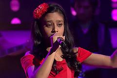 Laxmi Srivastava Sings Namak Ishq Ka Song The Voice India Kids Season 2 - December 9, 2017   &(AndTv)