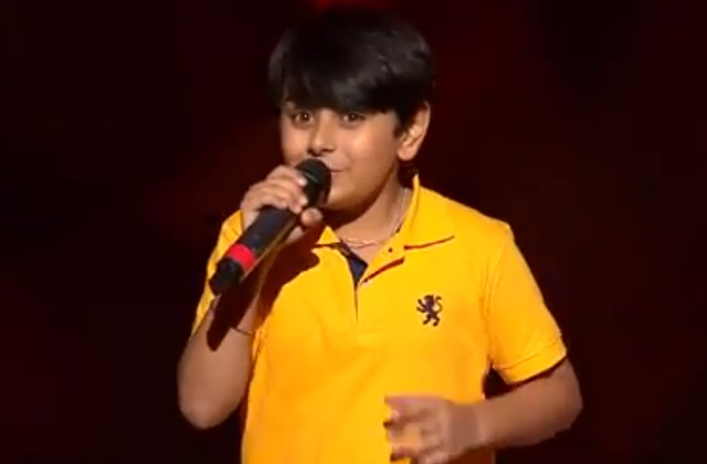 Madhav Arora Sings Likhe Jo Khat Tujhe The Voice India Kids Season 2 - November 11, 2017 | &(AndTv)