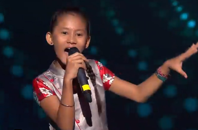 Manashi Sahariah Sings Jhoom Jhoom Jhoom Babaa The Voice India Kids Season 2 - November 11, 2017 | &(AndTv)