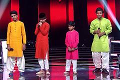 Mohmmad Fazil, Tanish, Rajeev & Sumeet Kumar Sings Baawre Song The Voice India Kids Season 2 - December 10, 2017 | &(AndTv)