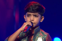 Mohmmad Fazil Sings Chunar | The Voice India Kids Season 2 - January 13, 2018 | &(AndTv)