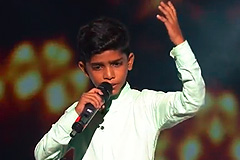 Mohmmad Fazil Sings Hanikarak Baapu The Voice India Kids Season 2 - November 19, 2017 | &(AndTv)