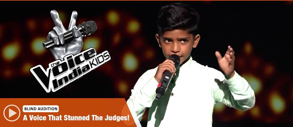 Mohmmad Fazil Sings Hanikarak Baapu The Voice India Kids Season 2 - November 19, 2017 | &(AndTv)