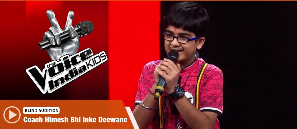 Moksh Gulhati Sings Ghul Mil Ghul Mil Launda Song The Voice India Kids Season 2 - December 9, 2017 | &(AndTv)