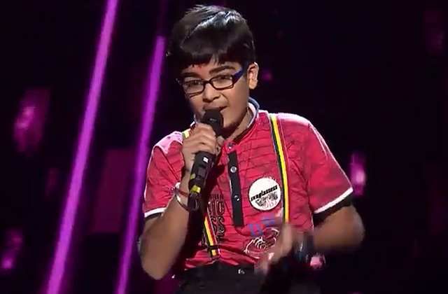 Moksh Gulhati Sings Ghul Mil Ghul Mil Launda Song The Voice India Kids Season 2 - December 9, 2017 | &(AndTv)