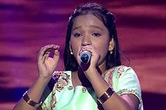 Nandini Gaikwad Sing Shyam Teri Bansi On Shree Krishna Janmashtami Special at Sa Re Ga Ma Pa Lil Champs 2017 - August 12, 2017 | ZEETV