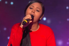 Neelanjana Ray Sings Tere Liye Song The Voice India Kids Season 2 - November 18, 2017 | &(AndTv)
