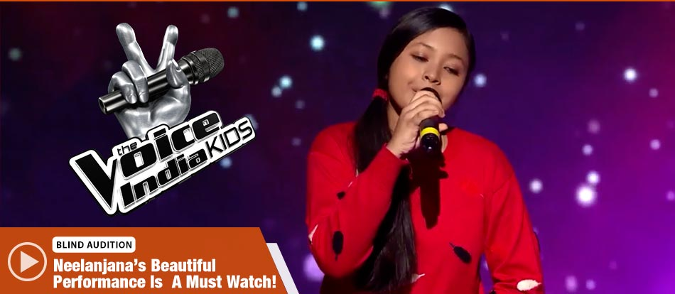 Neelanjana Ray Sings Tere Liye Song The Voice India Kids Season 2 - November 18, 2017 | &(AndTv)