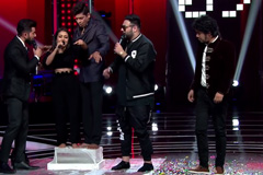 Neha Challenges Coach Shaan For The Ice Slab Challenge | Moment | The Voice India Kids - Season 2