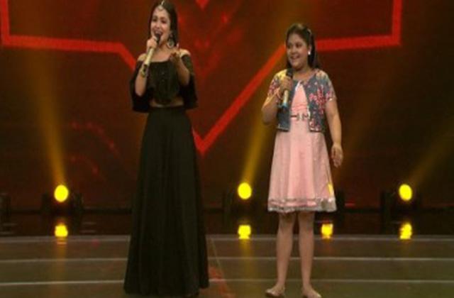 Neha Kakkar & Riya Biswas Sing Mere Rashke Qamar Song In Zee Rishtey Special- Sa Re Ga Ma Pa Lil Champs 2017 - July 23,2017 | ZEETV