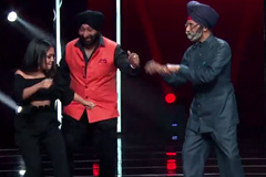 Neha Kakkar Dances On Kala Chashma With Sardarji | Funny Moment | The Voice India Kids - Season 2