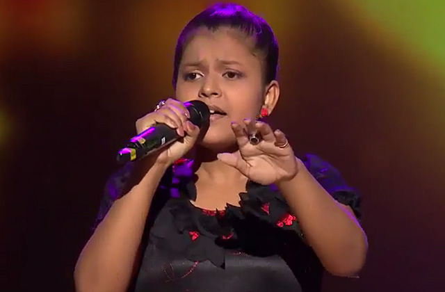 Niharika Nath Sings Banarasiya Song The Voice India Kids Season 2 - December 9, 2017 | &(AndTv)