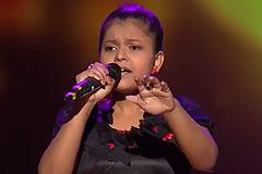 Niharika Nath Sings Banarasiya Song The Voice India Kids Season 2 - December 9, 2017   &(AndTv)