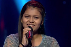Niharika Nath Sings Khushi K Pall Kaha Dhoondo | The Voice India Kids Season 2 - January 07, 2018 | &(AndTv)