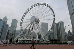 Observation Wheel Ride Excites Aamir-Sajeeda | Discover Hong Kong | Zing TV