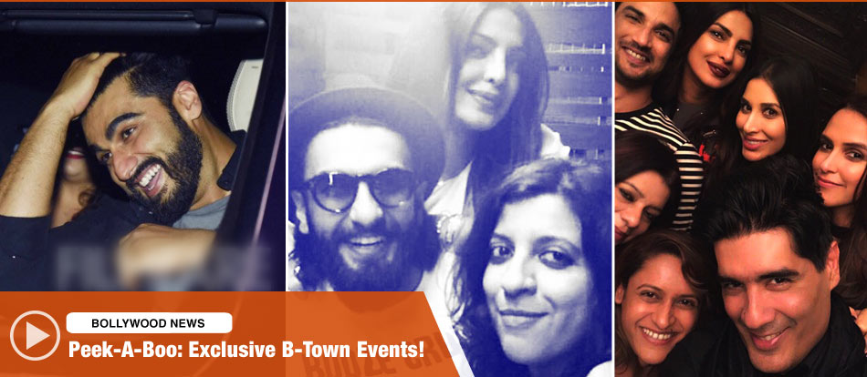 Peek-A-Boo: Exclusive B-Town Events!