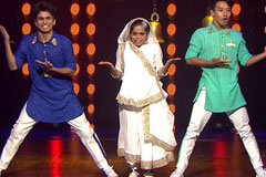 Piyush, Sonal & Sujan Perform On Tamma Tamma   DID 2017   Before Tv