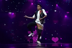 Piyush Performs on Dhating Naach   Dance India Dance 2017 – January 14   ZEETV