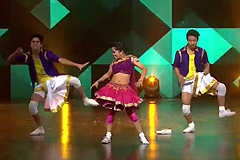 Piyush, Sujan & Sonal's Tolly Lindy Hop Style Performance Aa Re Pritam Pyaare Song | Dance India Dance 2017 – December 16 | ZEETV