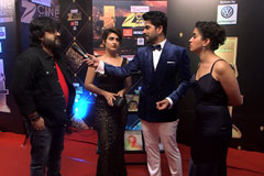 Pritam Chakraborty Sings on the on the red carpet of Zee Cine Awards 2017