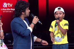 Priyadarshan Deka Sings Assamese song With Coach Papon | Moment | The Voice India Kids - Season 2