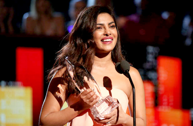 Priyanka Bags 2nd Time People's Choice Award For Quantico