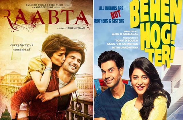 Raabta Or Behen Hogi Teri?  Who Wins The Box Office Race?