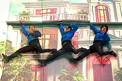 Rahul, Sachin, Punyakar's Bollywood Freestyle Dance Performance on Oonchi Hai Building 2 Song Dance India Dance 2017 - November 25   ZEETV