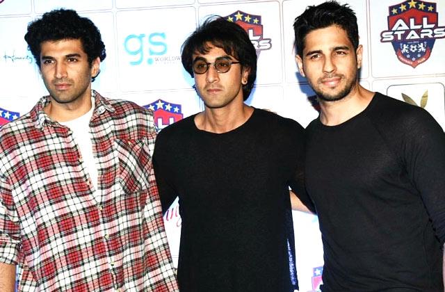 Ranbir, Aditya & Siddharth Rock The Weekend